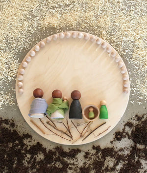 Children_of_the_Wild-Australia Grapat Baby Nins - 6 Nins + Coconut Shell Small World Toys Melbourne Australia