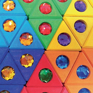 Children_of_the_Wild_Australia Bauspiel Junior Triangles 54 Pieces
