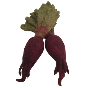 Children_of_the_WIld_Australia Papoose Fair Trade Felt Toy - Beetroot
