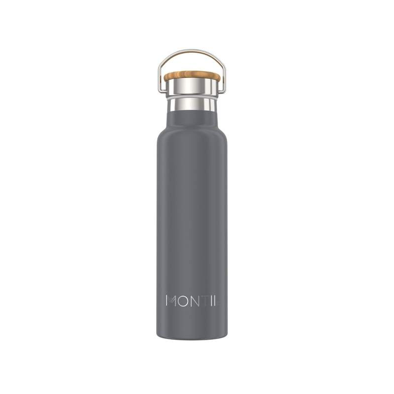 Montii Co Original Stainless Steel Bottle - Grey