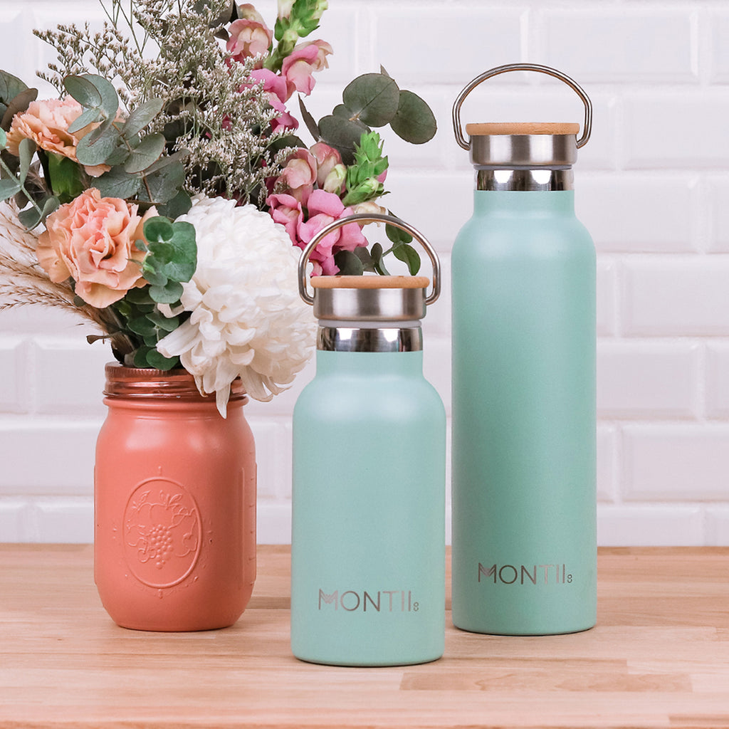 Montii Co Original Drink Bottle - Eucalyptus
