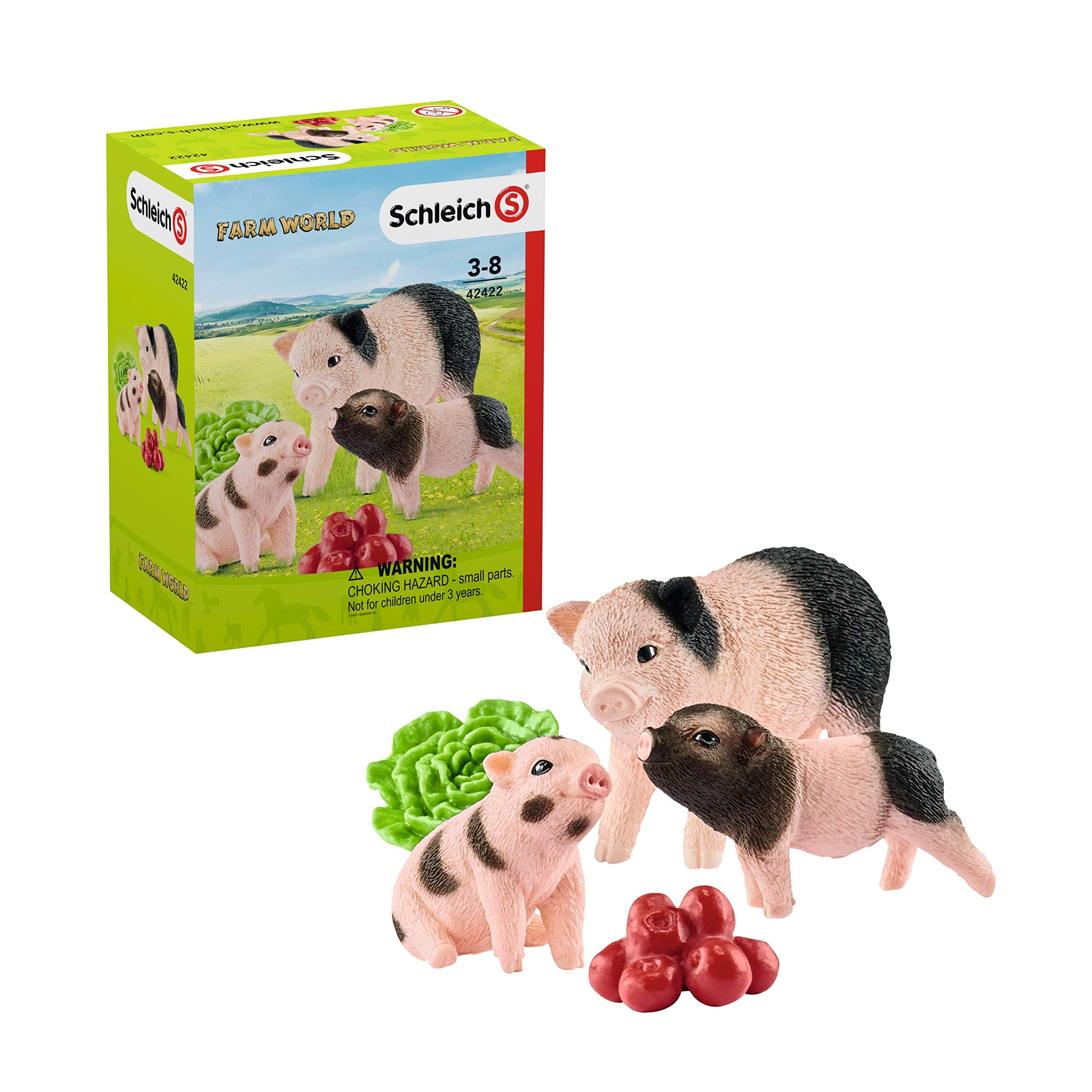 Schleich Miniature Pigs Mother with piglet Playset 42422