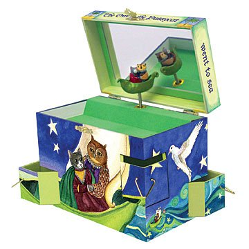 Enchantmints Music Box - The Owl and the Pussycat