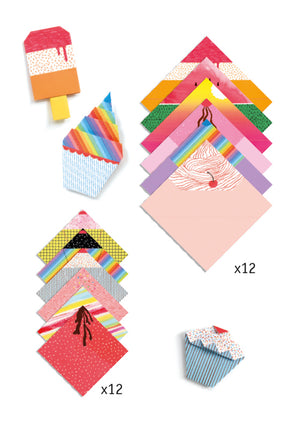 Children_of_the_Wild-Australia Djeco - Sweet Treats Origami
