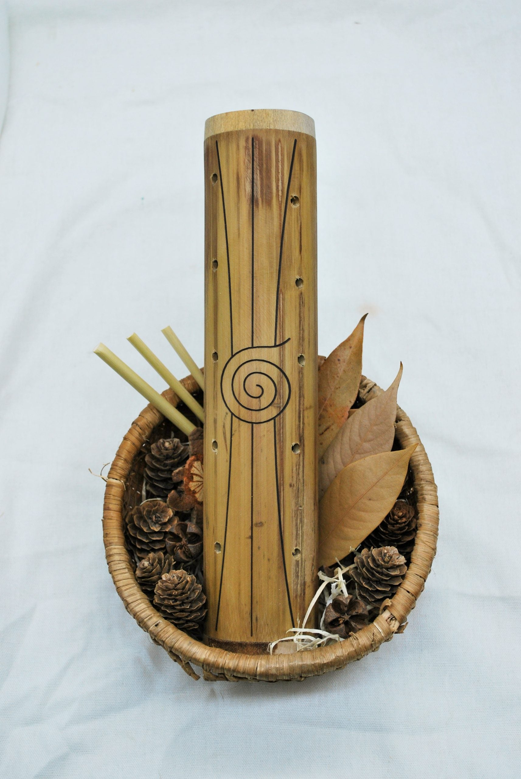 Qtoys - Natural Bamboo Rainmaker