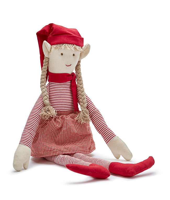 Nana Huchy Miss Jangles the Xmas Elf Doll
