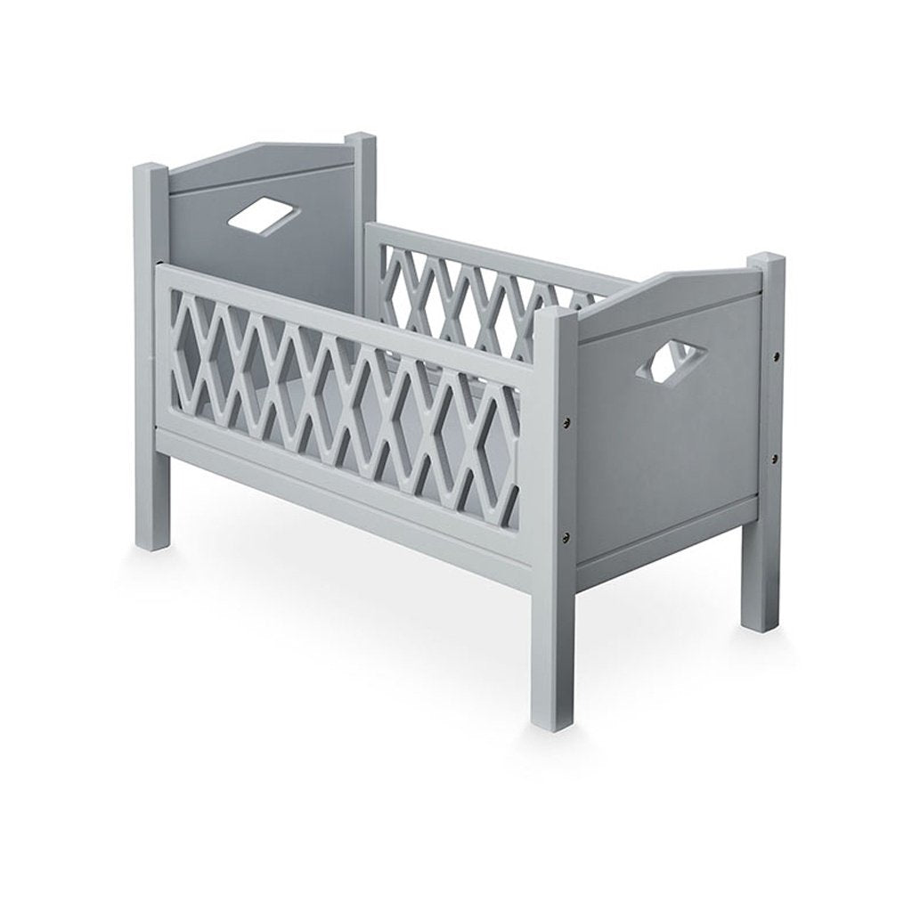 Cam Cam Copenhagen Harlequin Dolls Bed Grey