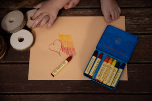 Stockmar Wax Crayons - 8 Stick Tin