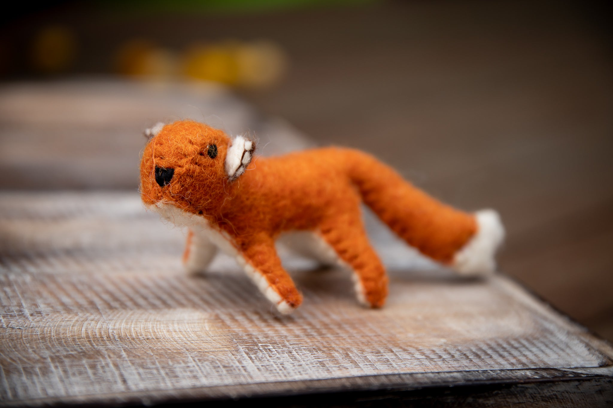 Papoose Fair Trade Felt Fox Toy