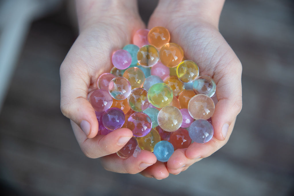 Huckleberry Sensory Water Marbles - Unicorn Gems