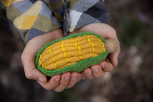Children_of_the_Wild_Australia Papoose Fair Trade Felt Corn Toy