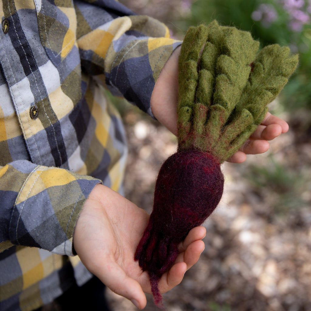 Papoose Fair Trade Felt Toy - Beetroot