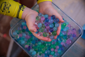 Huckleberry Sensory Water Marbles - Princess Crystals