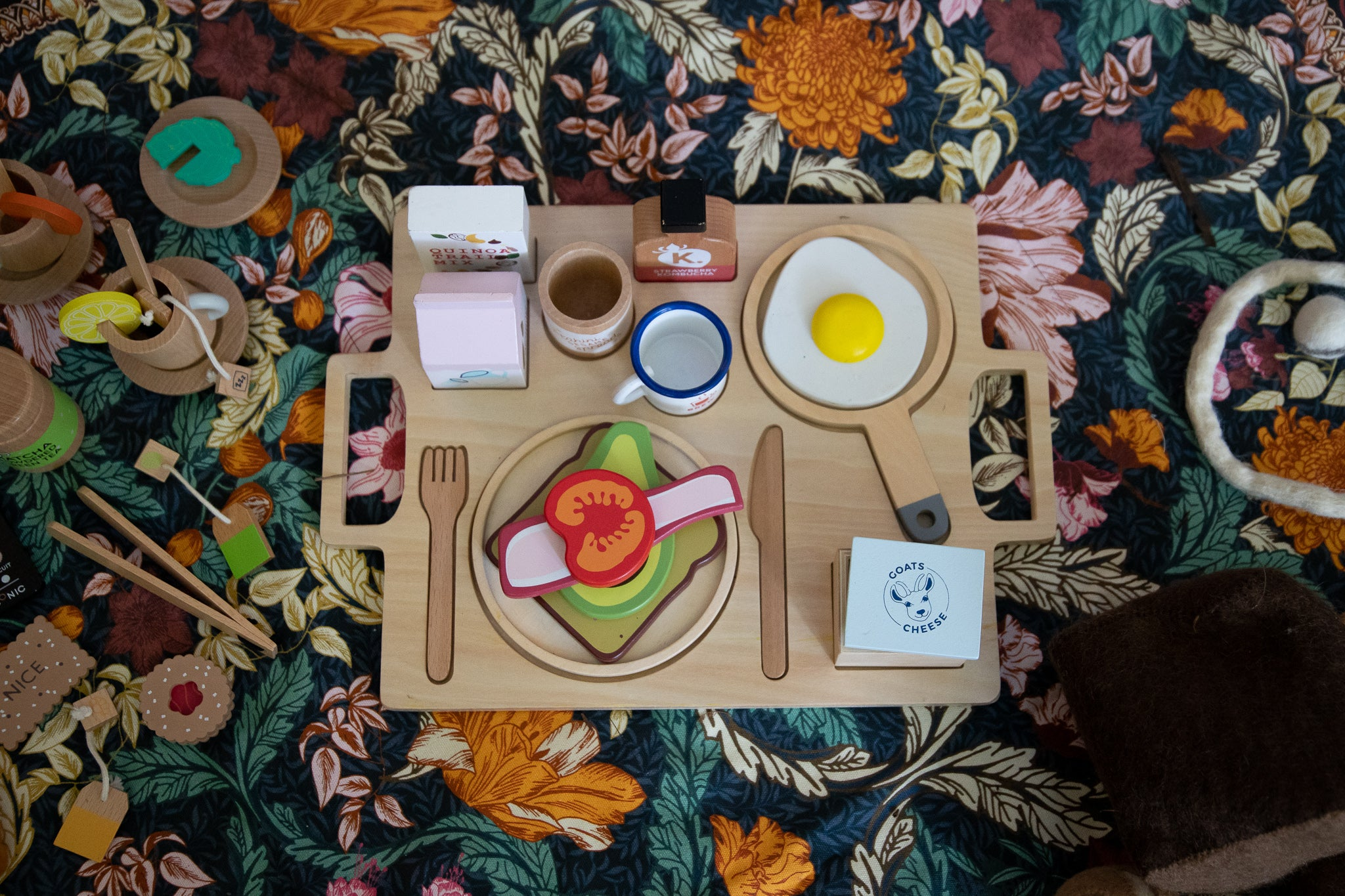 Make Me Iconic Healthy Tummy Breakfast Wooden Toy