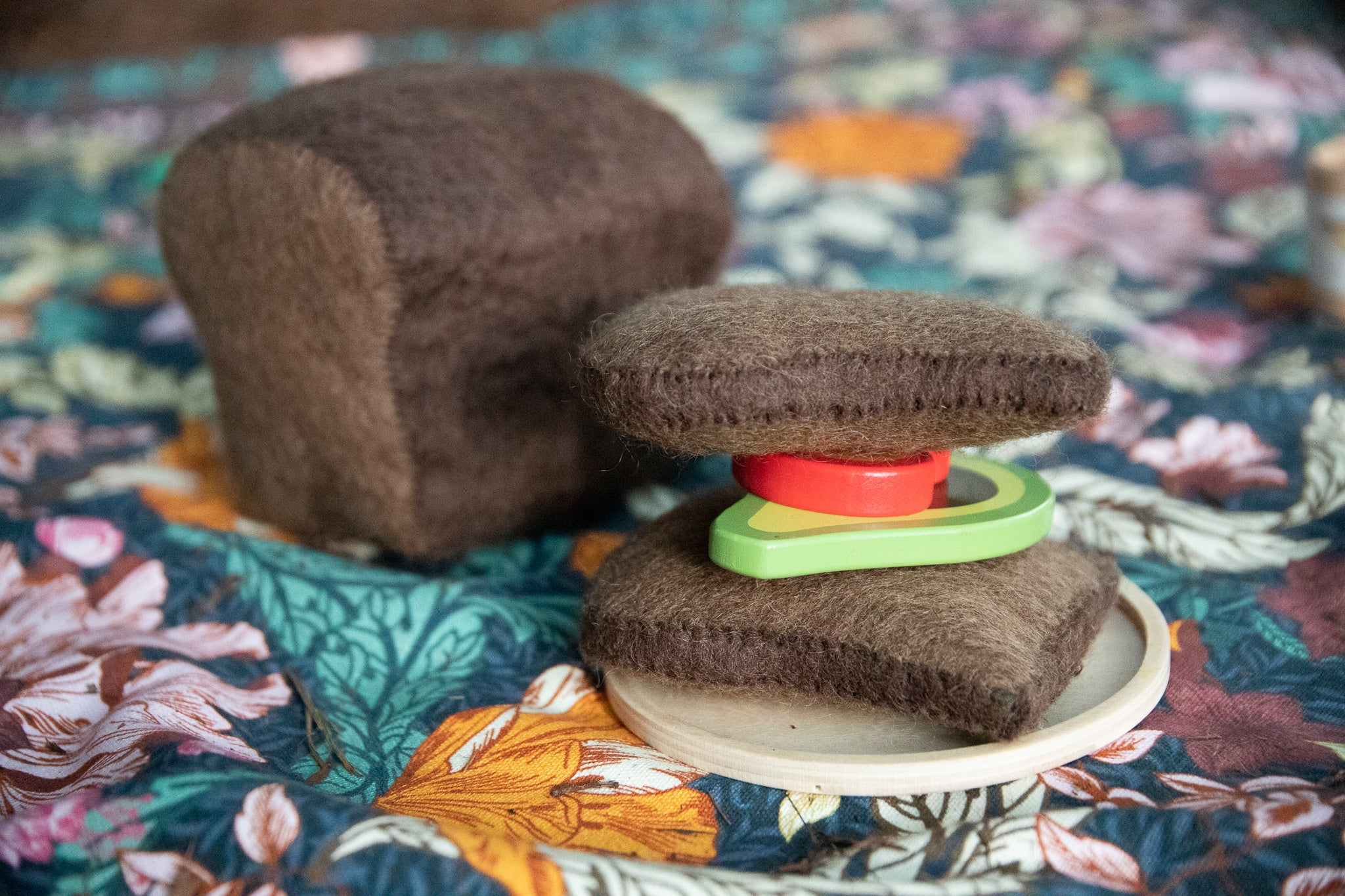Papoose Felt Bread Set