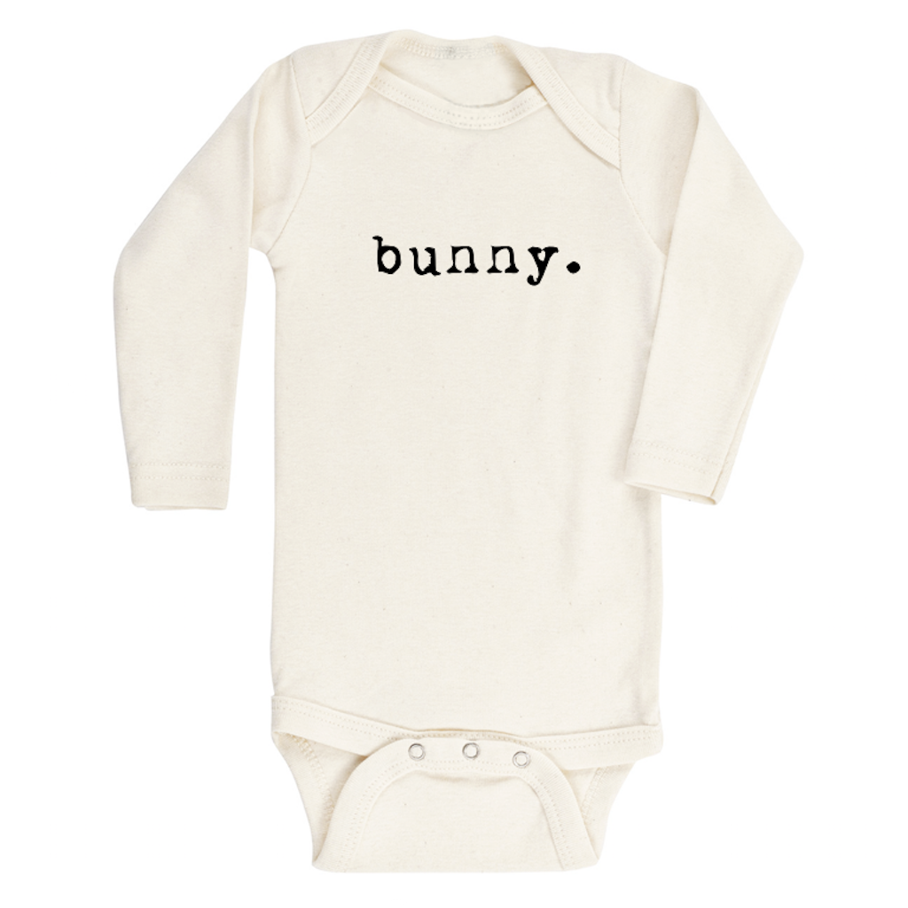 Tenth and Pine Bunny Long Sleeve Organic Romper