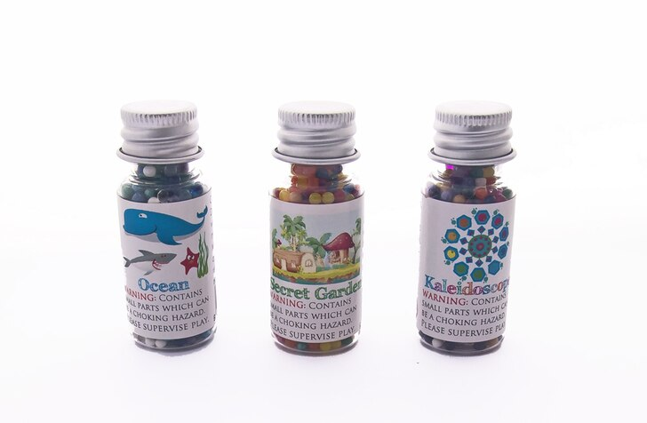 Huckleberry Sensory Water Marbles - Nature Trio