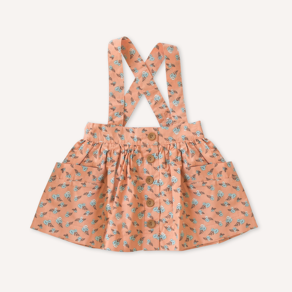 Peaches Suspender Skirt by Lacey Lane