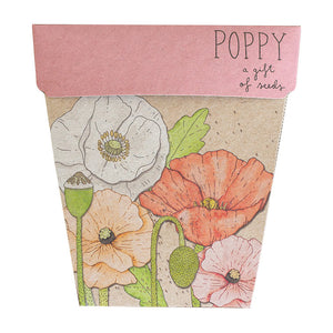 Sow n' Sow Gift of Seeds - Poppy