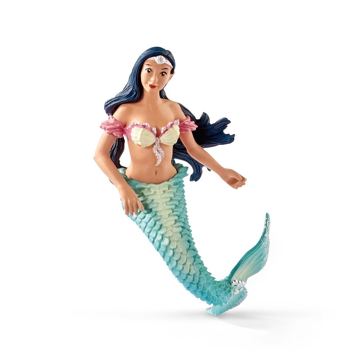 Schleich - Isabelle Mermaid on Unicorn Seahorse 70557 NEW