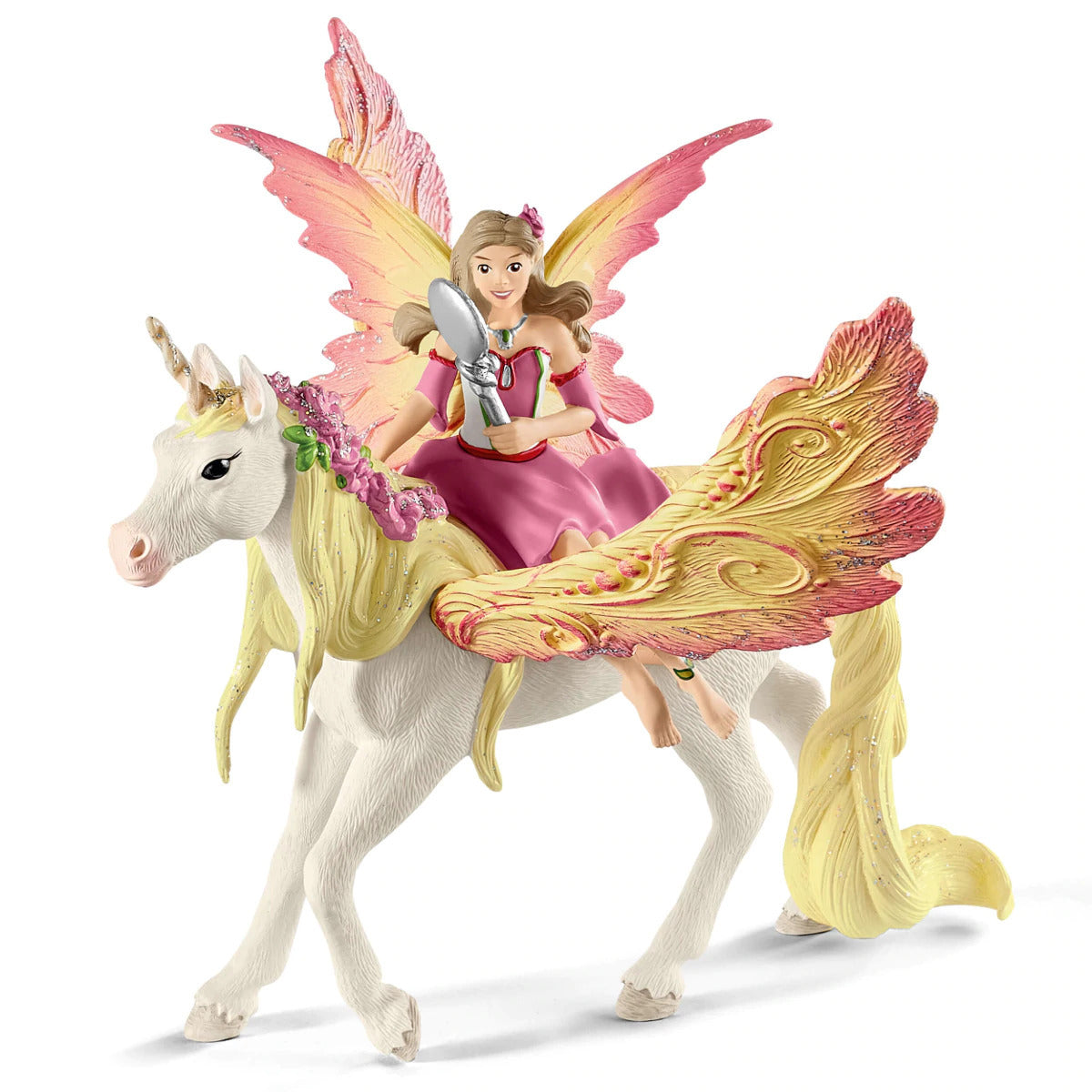 Schleich Feya with Pegasus Unicorn SC70568
