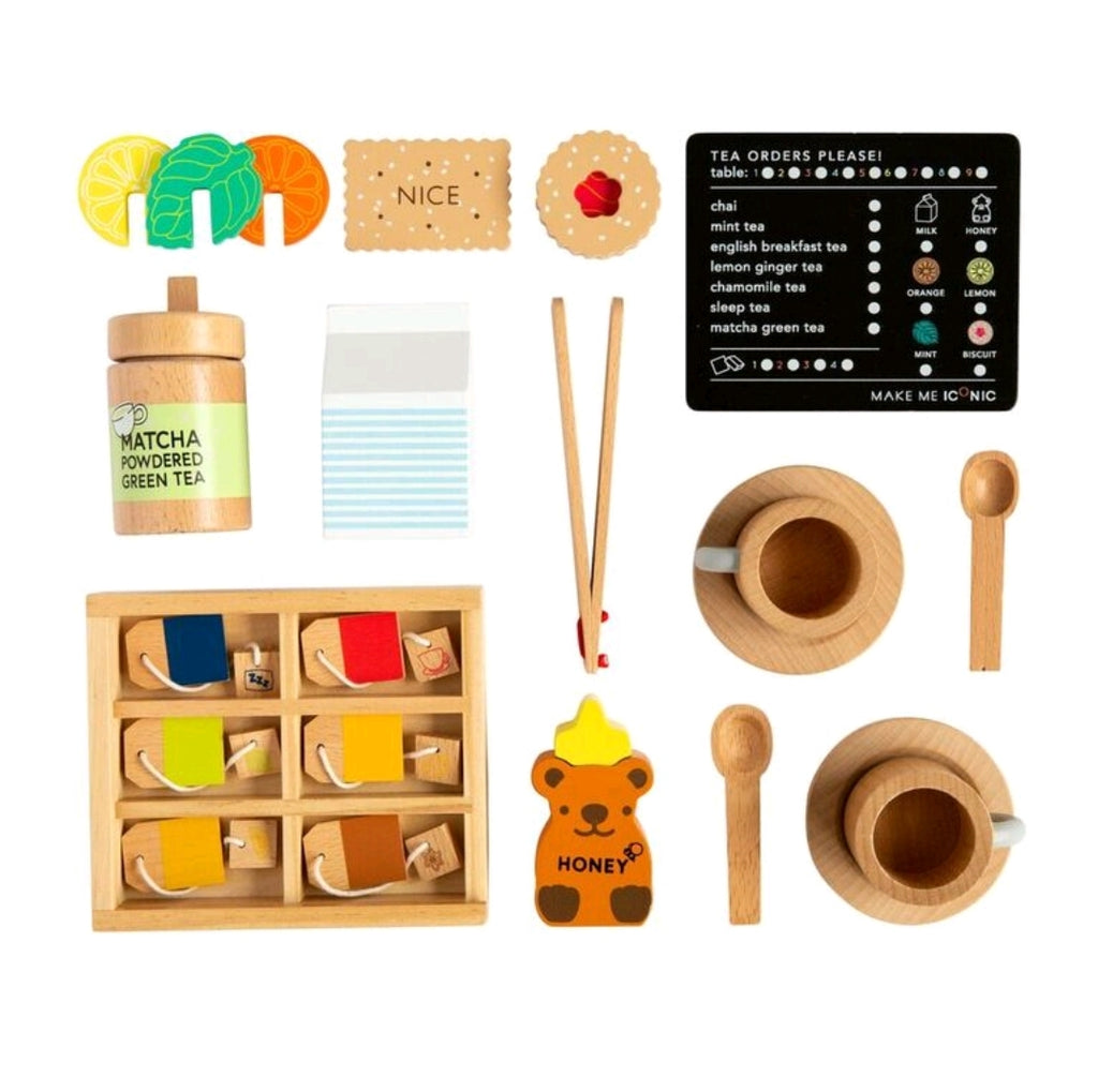 Make Me Iconic - Wooden Tea Set Extension Kit