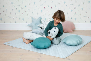Cam Cam Copenhagen Sea Shell Cushion Canel Green