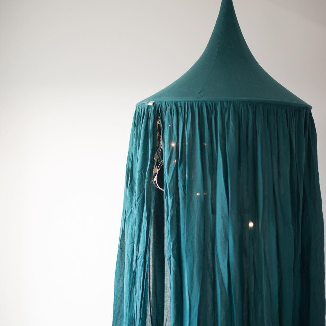 Numero 74 Bed canopy -Teal Blue