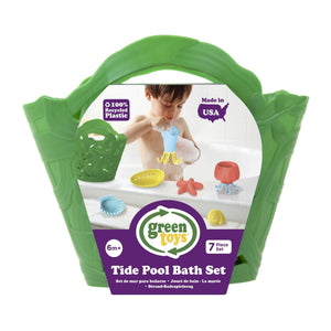 Green Toys Tide Pool Bath and Beach Set - Green