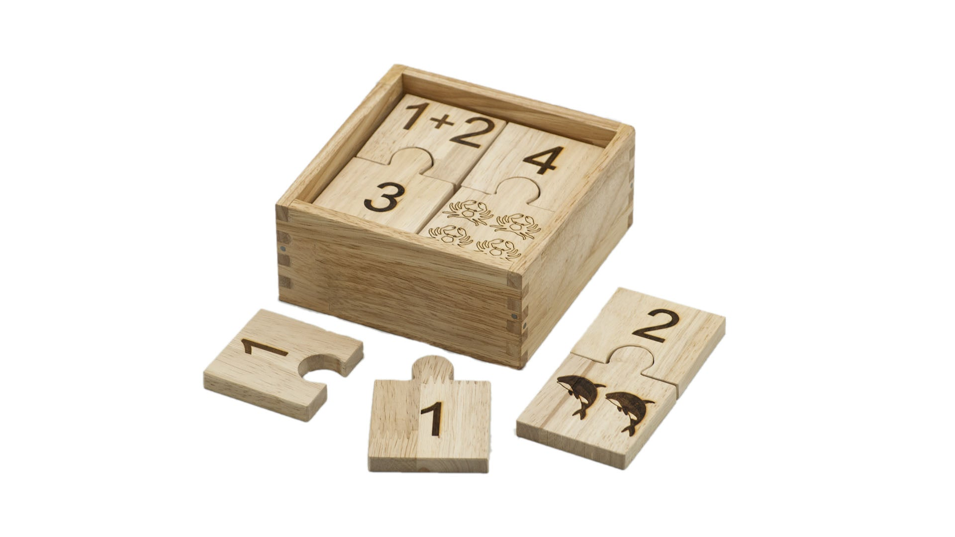 QToys Number Jigsaw in Box