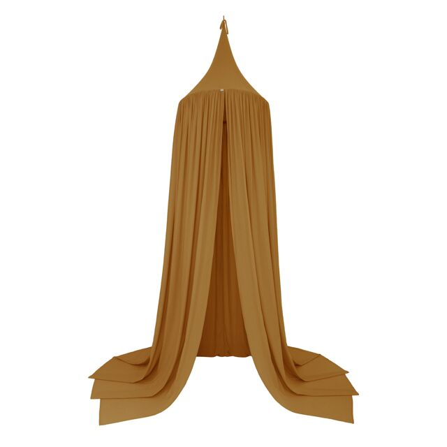 Numero 74 Organic Cotton Bed Canopy - Gold S024