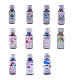 Huckleberry Sensory Water Marbles Trio - Fairy and Mermaid