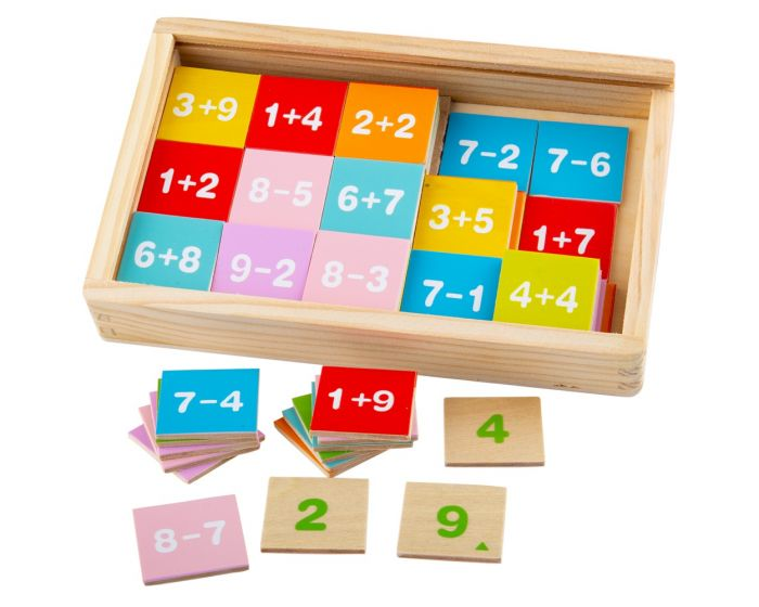 Bigjigs Toys Add & Subtract Tiles