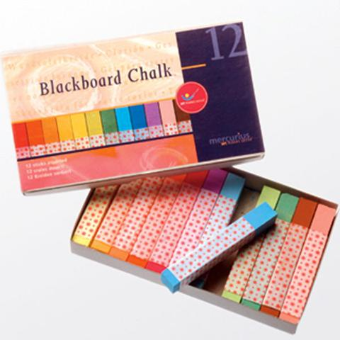 Mercurius Blackboard Pastel Chalk - Box of 12