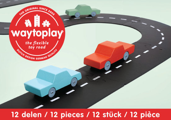 Way to Play Rubber Roads - Ringroad 12 Pieces