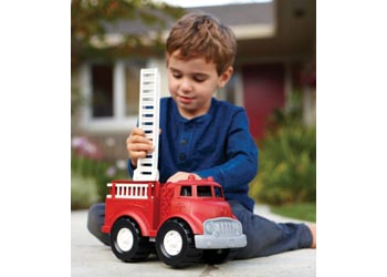 Green Toys - Red Fire Truck Engine
