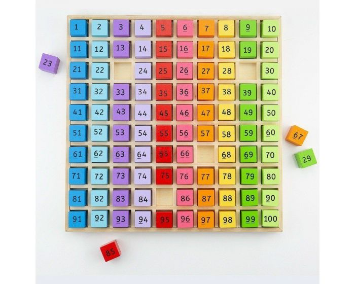 Bigjigs Toys Number Tray