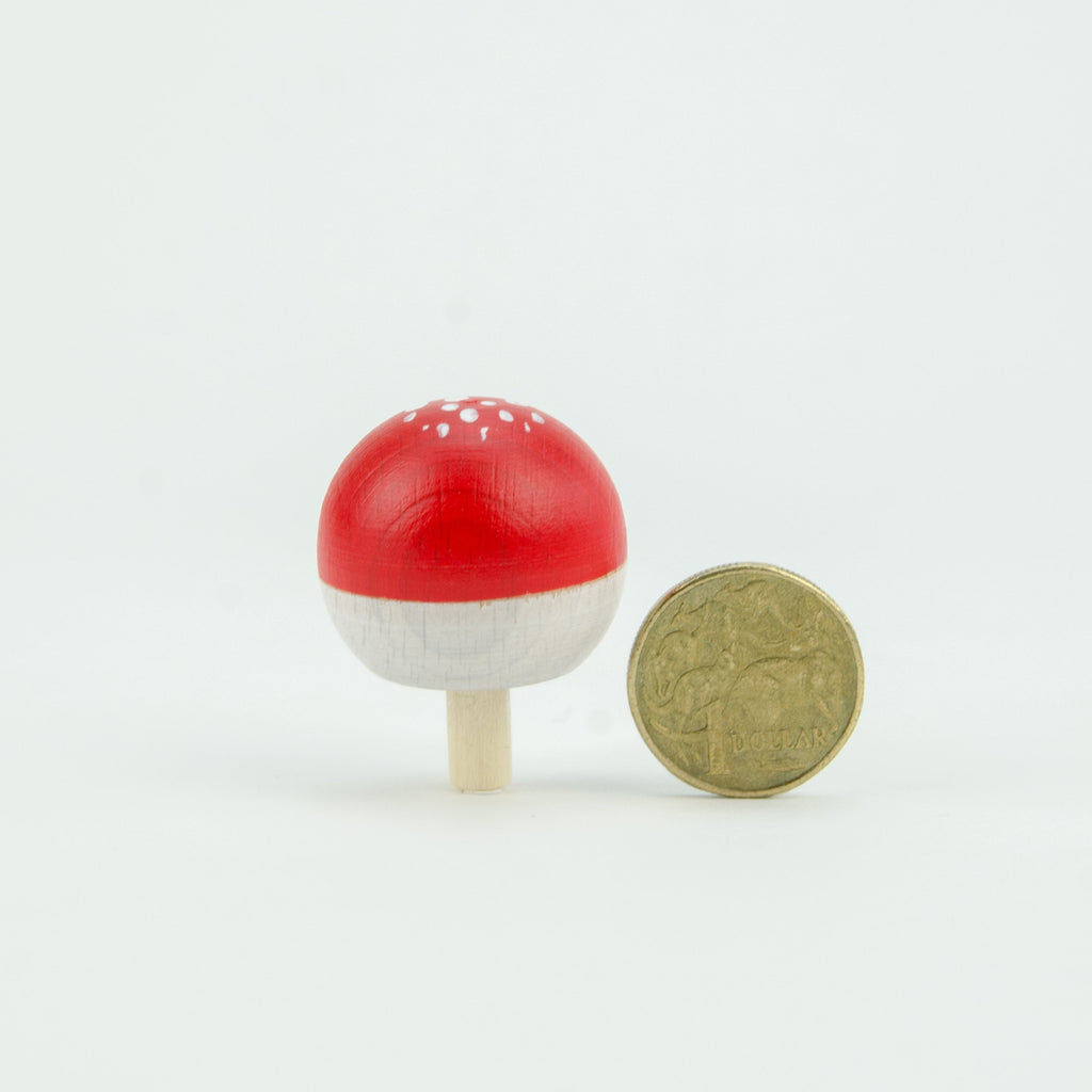 Mader - Fly Agaric Spinning Turn Top