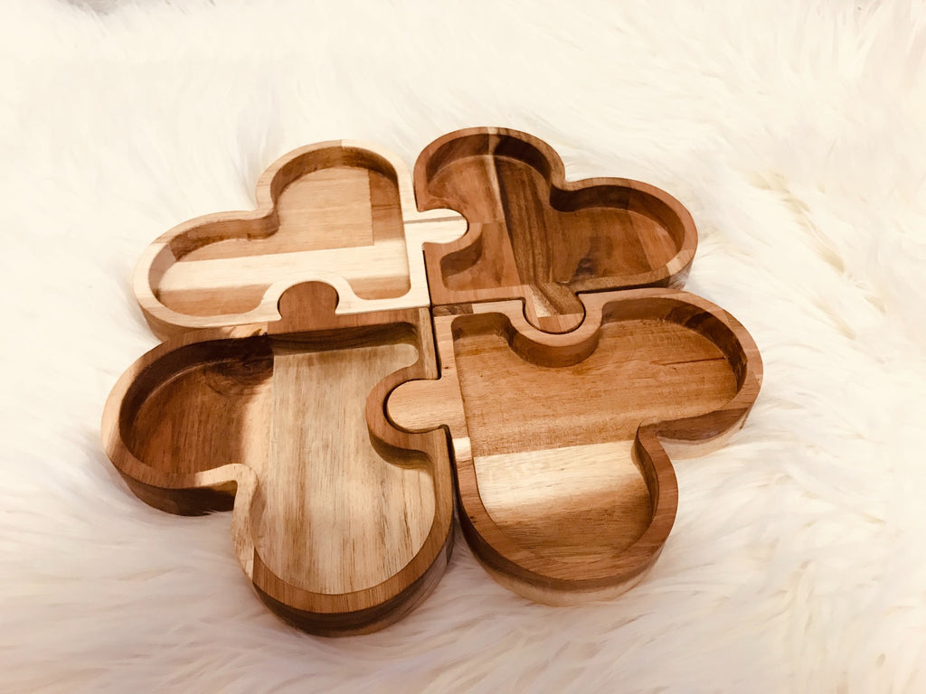 Qtoys Four Leaf Clover Trays