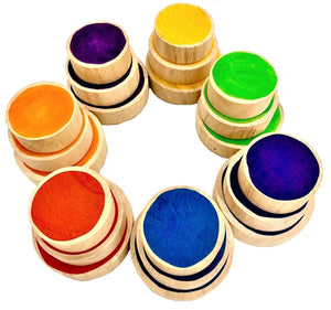 Papoose Rainbow Coins (21 Pieces)