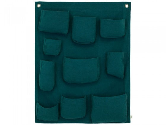 Numero 74 Wall Pocket - Teal Blue