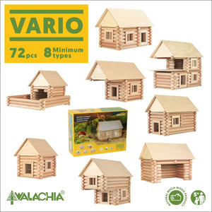 Walachia Vario Classic set - 72 Pieces