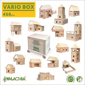 Walachia Vario Box 450 pieces (Classic + XL + Fort)