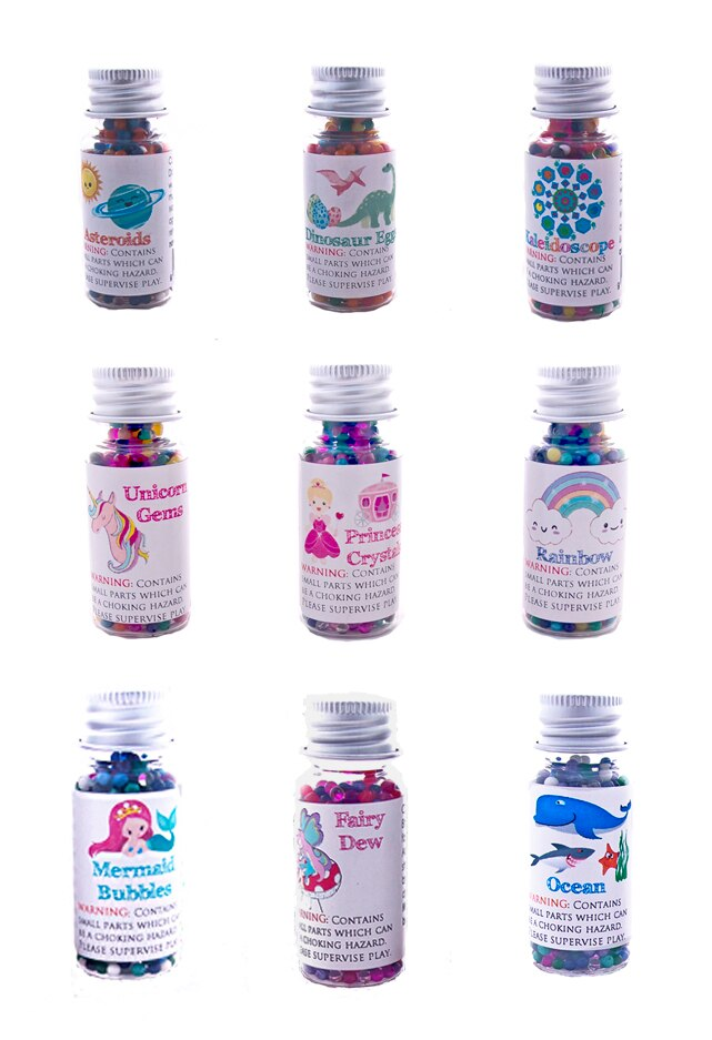Huckleberry Sensory Water Marbles - Mermaid Bubbles