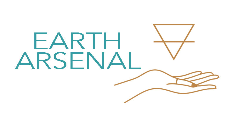 Earth Arsenal is an online natural healing crystals & energy healing metaphysical shop. Ethically sourced sage bundles, palo santo, vetiver, handcrafted natural soy coconut wax candles with essential oils, herbal teas, gemstone bracelets and vintage home decor.