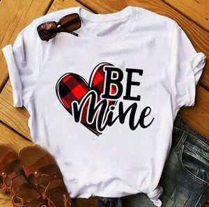 Tricou alb Love Be Mine 2