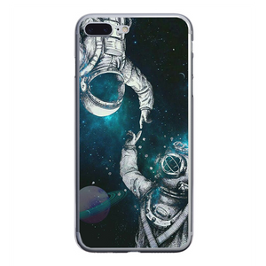 Husa iPhone 7 Plus Astronaut and Scubadiver