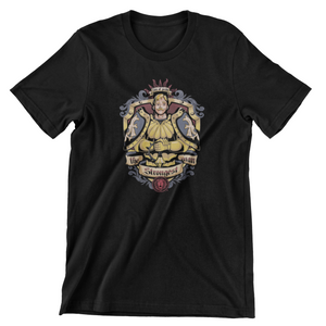 Tricou negru Seven Deadly Sins Pride the strongest man