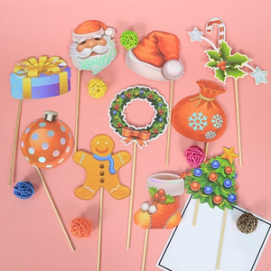 1 Set Creative Funny Photo Booth Props Kit