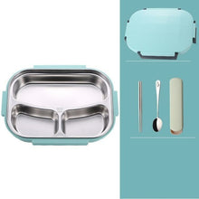 Load image into Gallery viewer, Leakproof Japanese Style Stainless Steel Lunch Bento Box